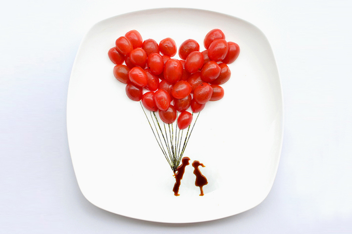 31 Days of Creativity with Food by Hong Yi (Red)