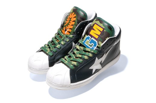 A Bathing Ape 2013 Spring/Summer SHARK LEATHER BIG TONGUE ULTRA SKULL STA