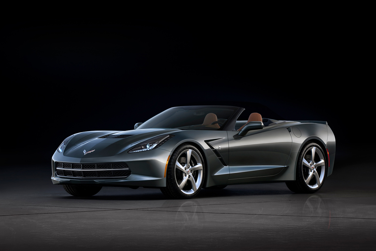 A Look At the 2014 Chevrolet Corvette Stingray Convertible