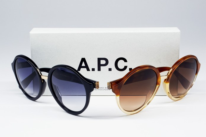 A.P.C. x SUPER 2013 Spring/Summer Eyewear Collection