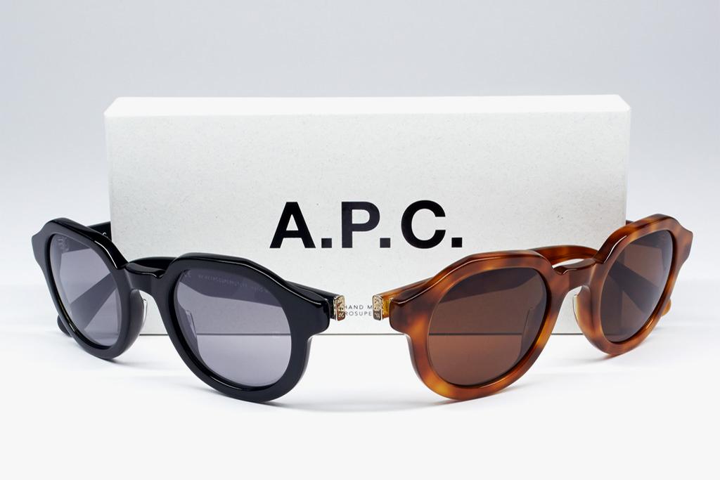 A.P.C. x SUPER 2013 Spring/Summer Eyewear Collection