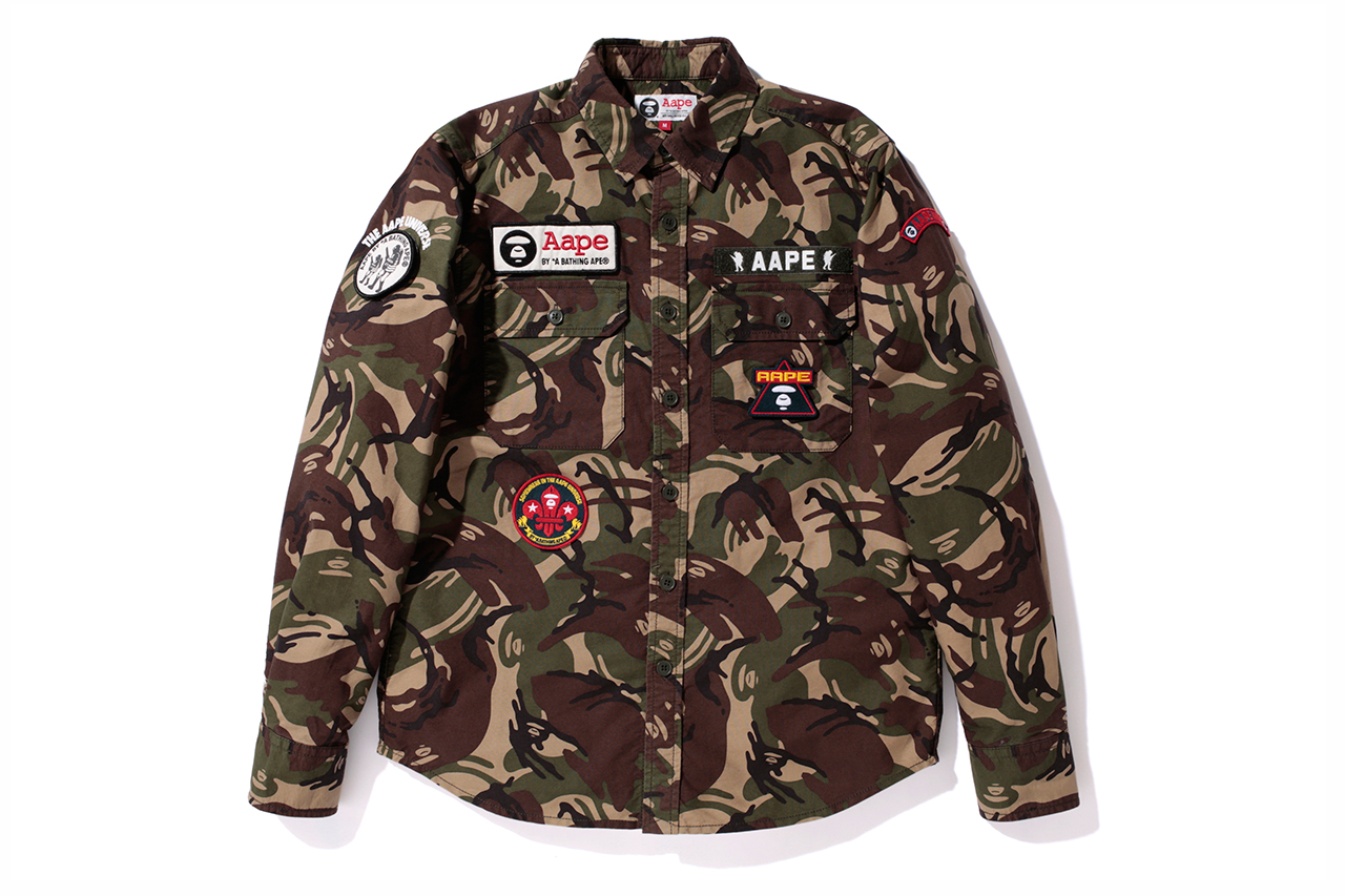 aape by a bathing ape 2013 spring summer collection
