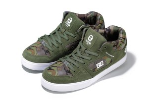 "AAPE by A Bathing Ape x DC Shoes Radar Slim ""Camo"""