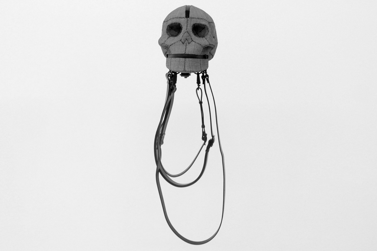 aitor throups new object research shiva skull bag installation event recap h lorenzo
