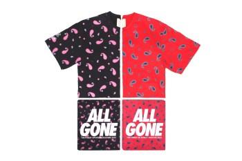 CLOT x All Gone 2012 Paisley Print Tee