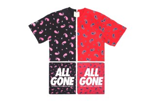 CLOT x All Gone 2012 Paisley Print Tee