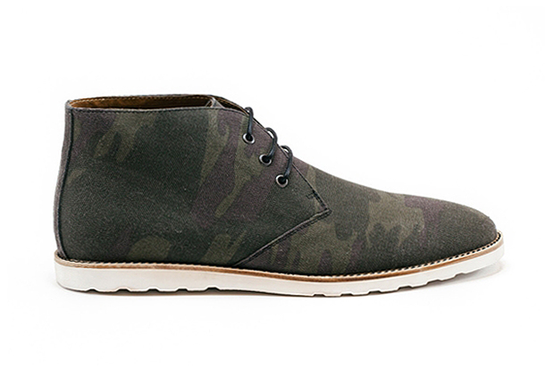 Amsterdam Shoe Co. 2013 Spring/Summer Camo Canvas Chukka