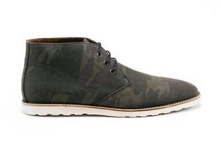 Amsterdam Shoe Co. 2013 Spring/Summer Camo Canvas Chukka