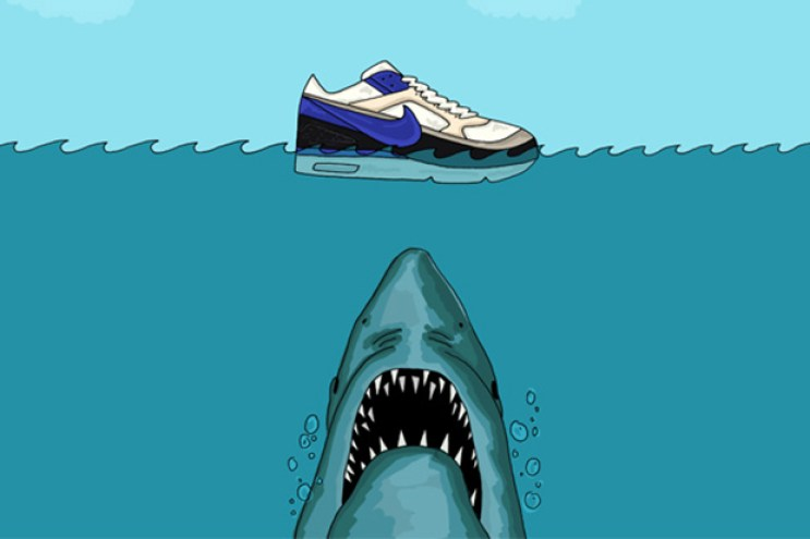 An Illustrated Preview of Nike's 2013 Spring/Summer Footwear by Josh Parkin for The Chimp Store