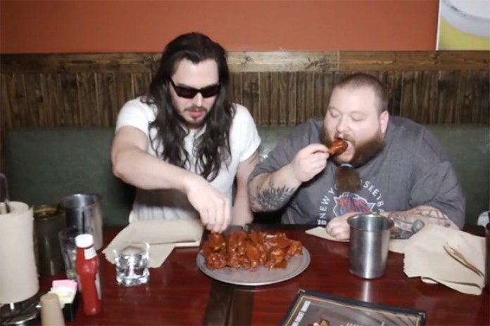 Action Bronson & Andrew W.K. vs. Wingzup's Ghost Wings Challenge