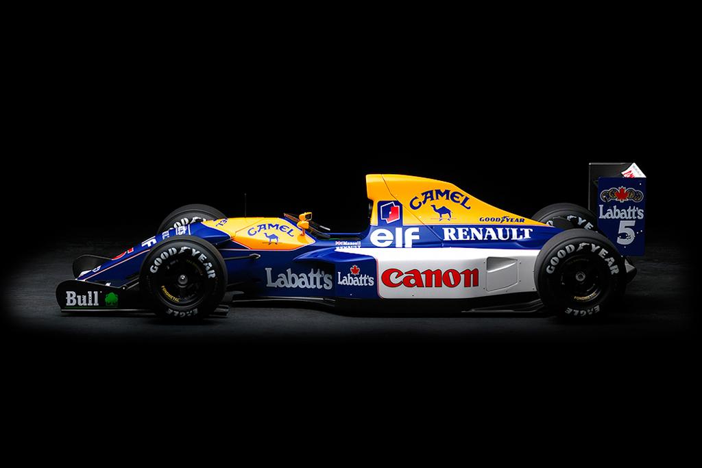 Andy Mathews 1/12th Scale F1 Models