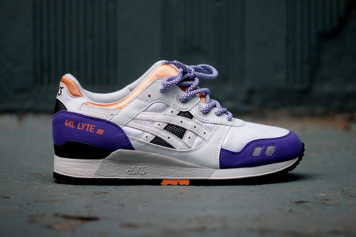 ASICS 2013 Spring/Summer Gel Lyte III White/Purple