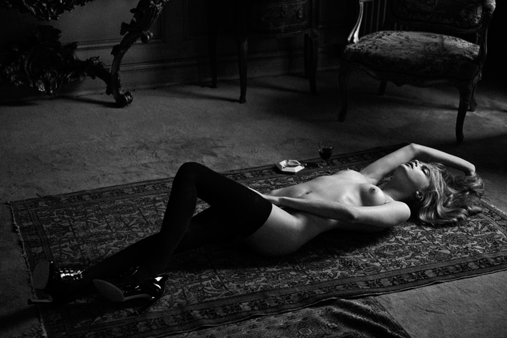 Cara Delevingne for the April 2013 Issue of Interview Magazine (NSFW)