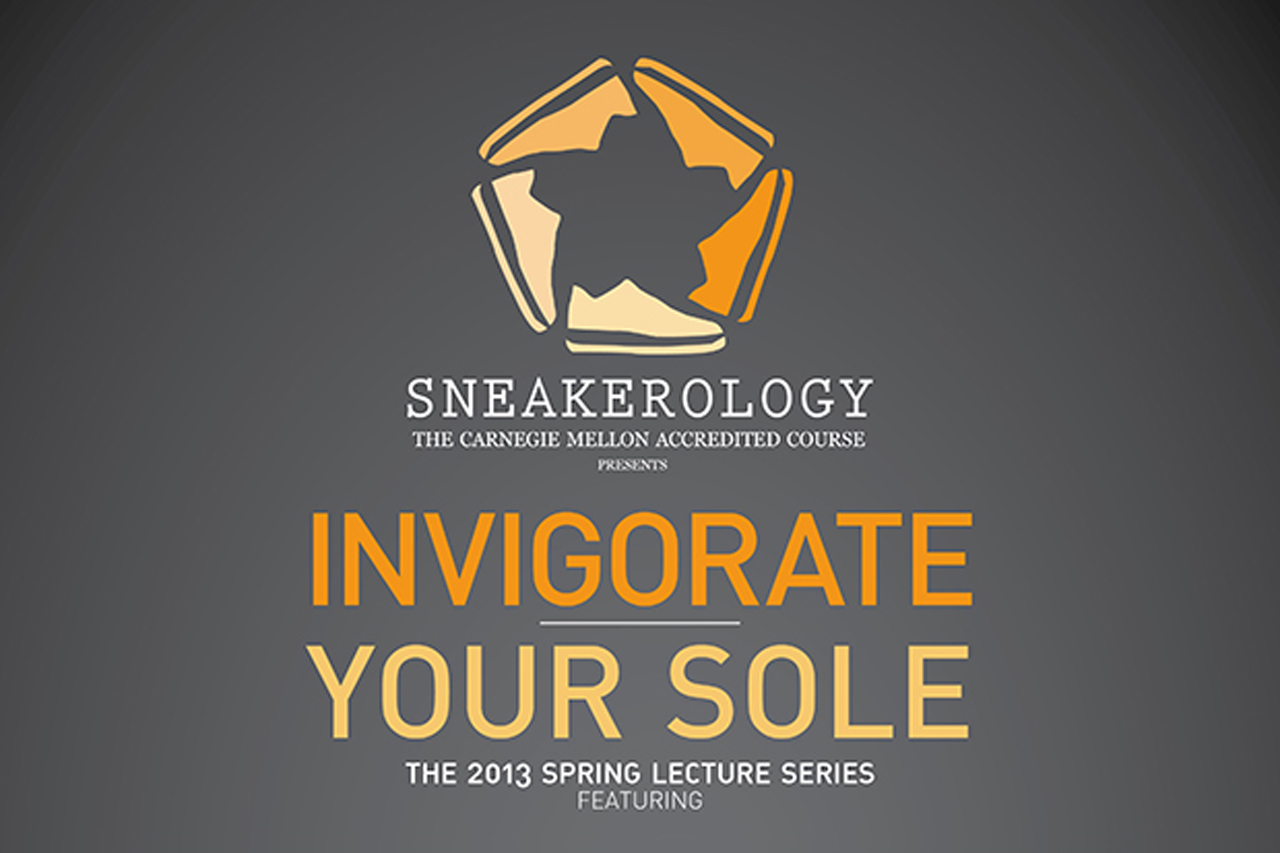 carnegie mellons invigorate your sole sneakerology lectures
