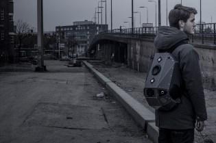 Case of Base x Solid Gray Speaker Backpack