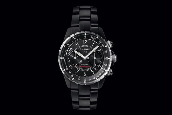 Chanel J12 Matte Black Superleggera