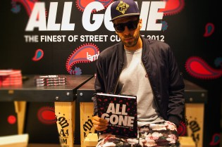 CLOT x All Gone 2012 Book Launch Recap