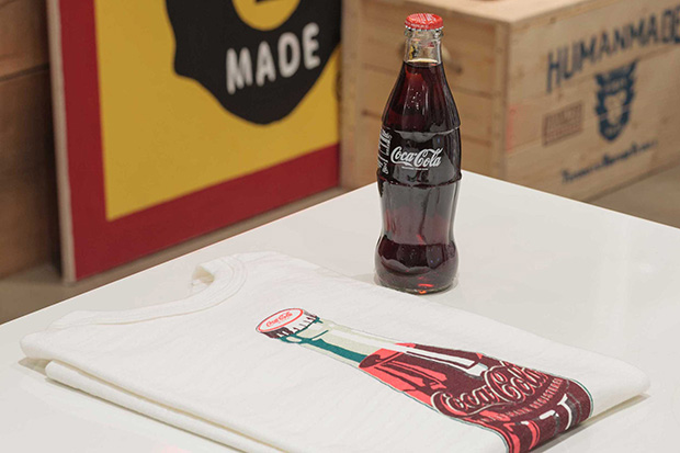 Coca-Cola x HUMAN MADE Installation at PRESENT LONDON