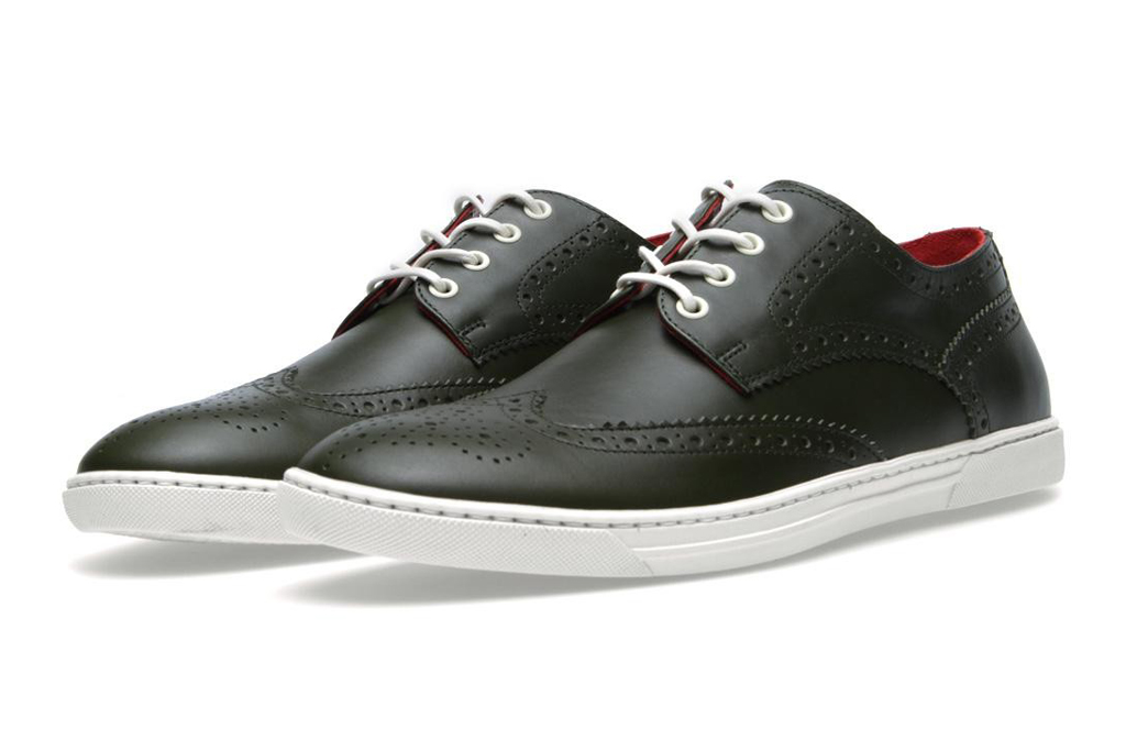 COMME des GARCONS JUNYA WATANABE MAN x Tricker's 2013 Spring/Summer Leather Wingtip Sneakers