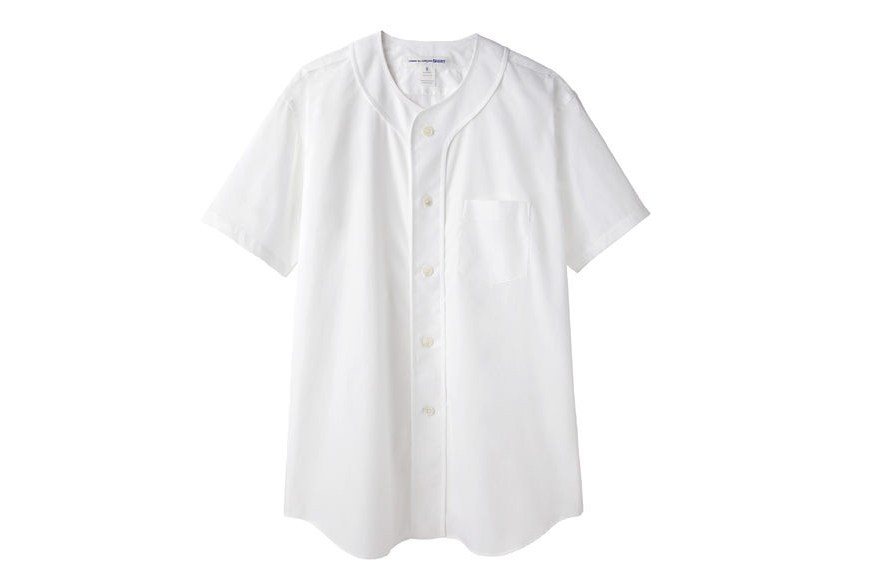 comme des garcons shirt 2013 spring summer baseball shirt
