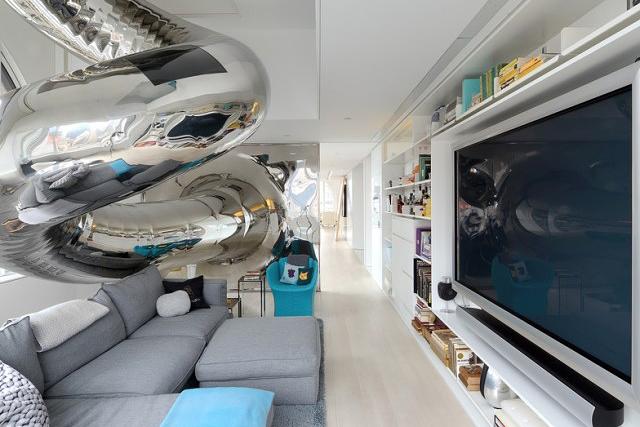 David Hotson x Ghislaine Viñas Skyhouse Indoor Slide