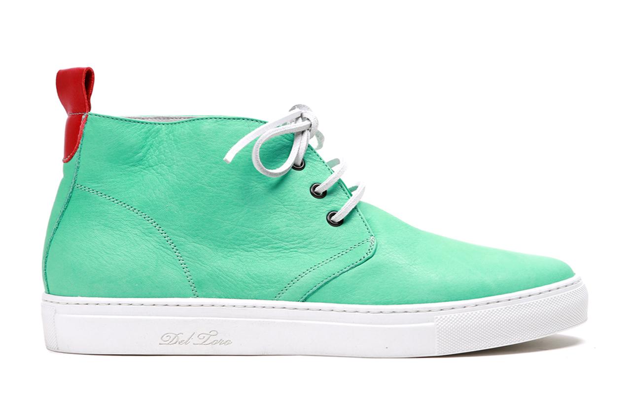 Del Toro Sea Foam Nappa Leather Alto Chukka Sneaker