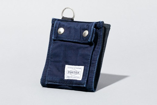 Deluxe x Porter 2013 Spring/Summer Indigo Accessories Collection