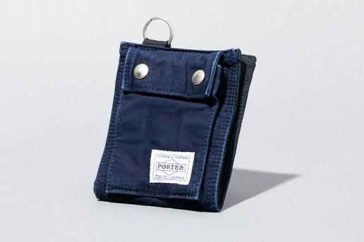 Deluxe x Porter 2013 Spring/Summer Indigo Accessories Collection