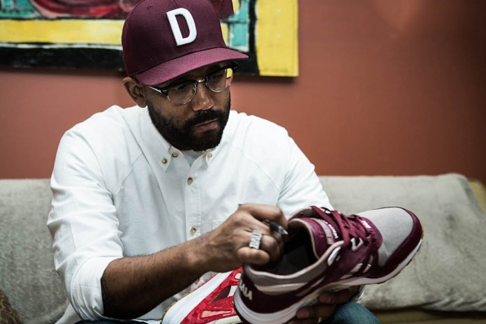 "The Distinct Life x Reebok ""TDL Camo"" Ventilator: Rick Williams Talks Sneakers and the Motor City"