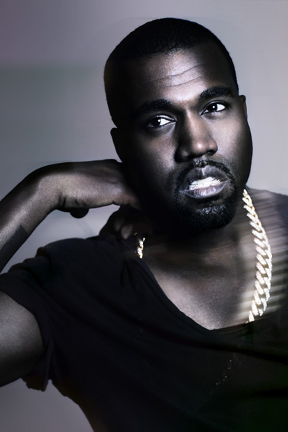 Exclusive Portraits of Kanye and Kim for L'Officiel Homme