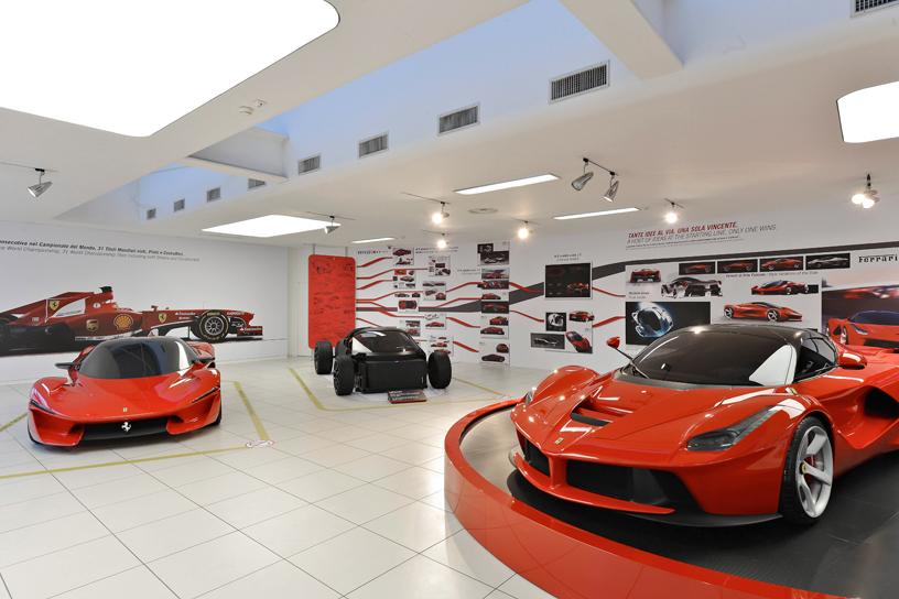 Ferrari's Previously Unseen LaFerrari Concepts