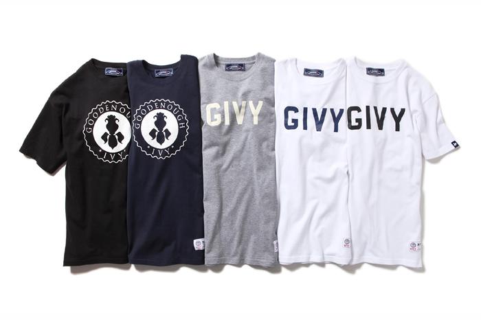 GOODENOUGH IVY x fragment design T-Shirt Collection