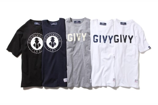 GOODENOUGH IVY x fragment design T-Shirt Collection