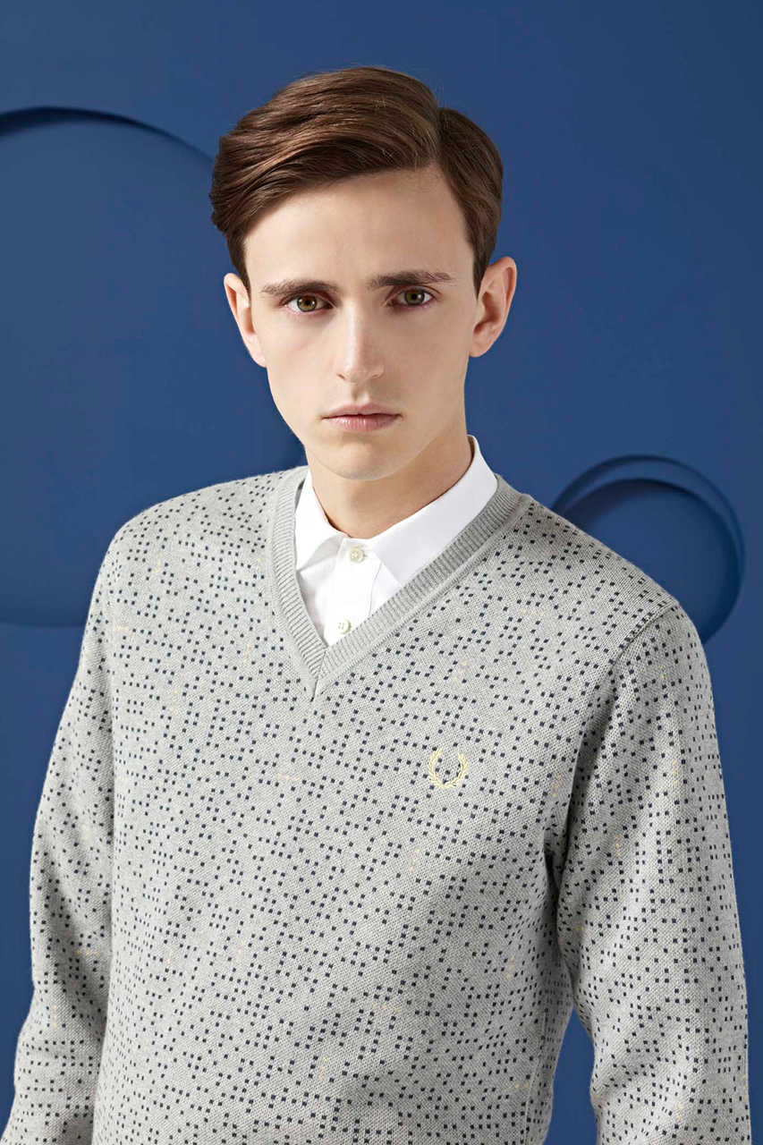 fred perry laurel wreath 2013 spring summer lookbook