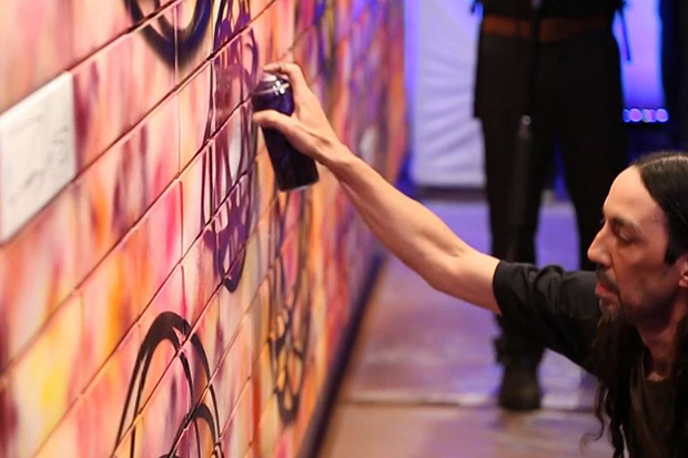 Futura Down Under in Melbourne Talks About His Art and Hennessy