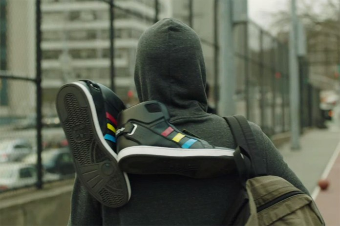 Google+ x adidas Talking Shoe by Art, Copy & Code, Zach Lieberman and YesYesNo