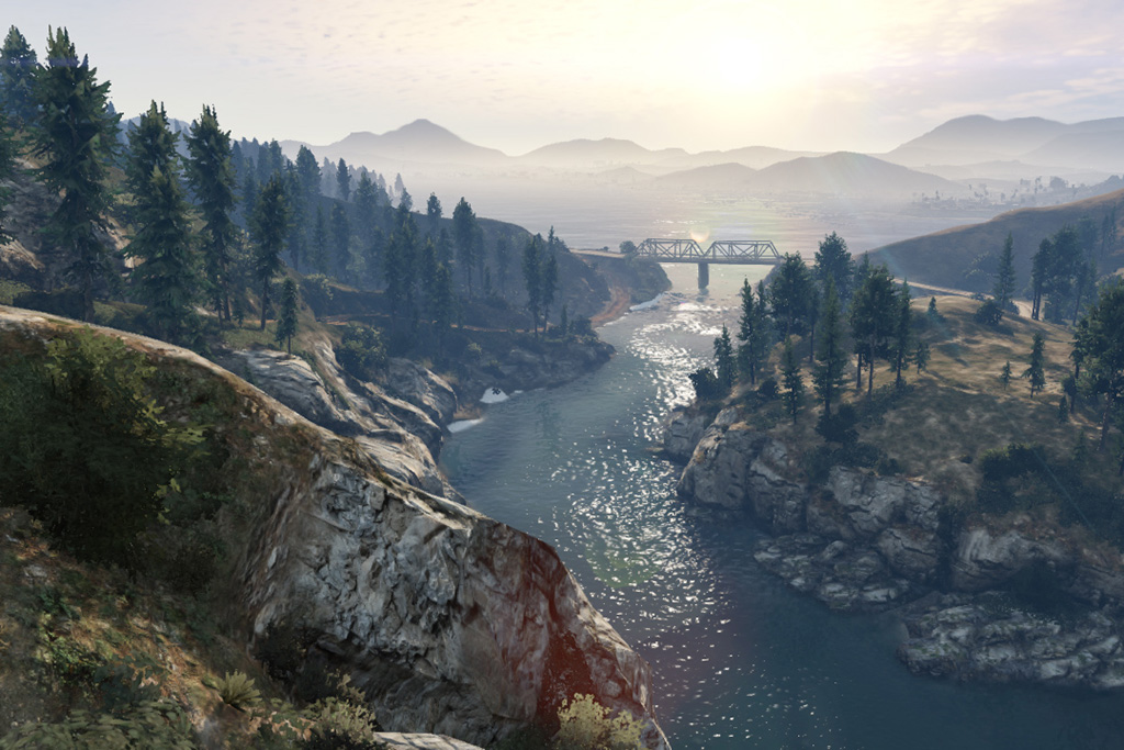 all new screenshots from grand theft auto v