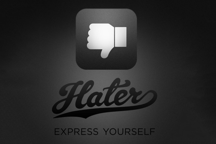'Hater' Social Media App Lets You Dislike Things