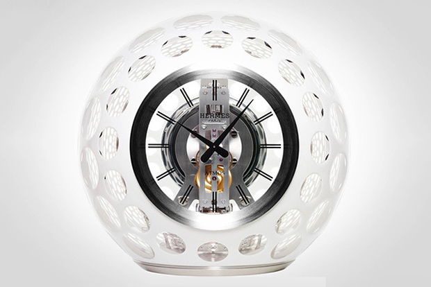 hermes atmos clock by jaeger lecoultre