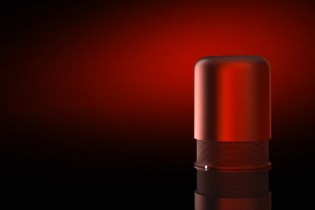 HIDDEN Radio Metallic Red Limited Edition Speaker