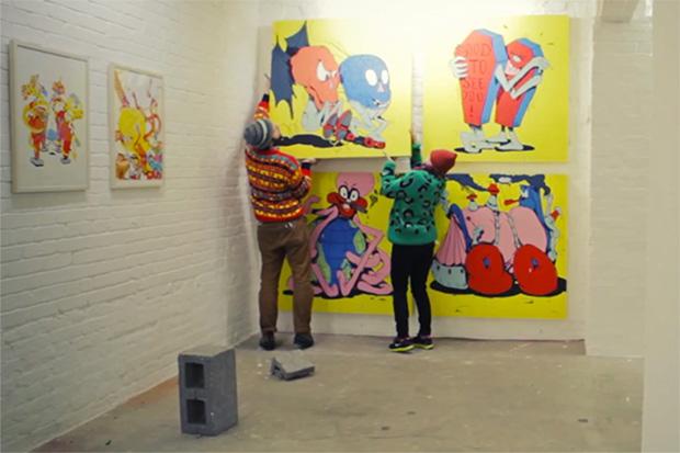 """Horfe Discusses His New Works and """"Imaginarium"""" Exhibition"""