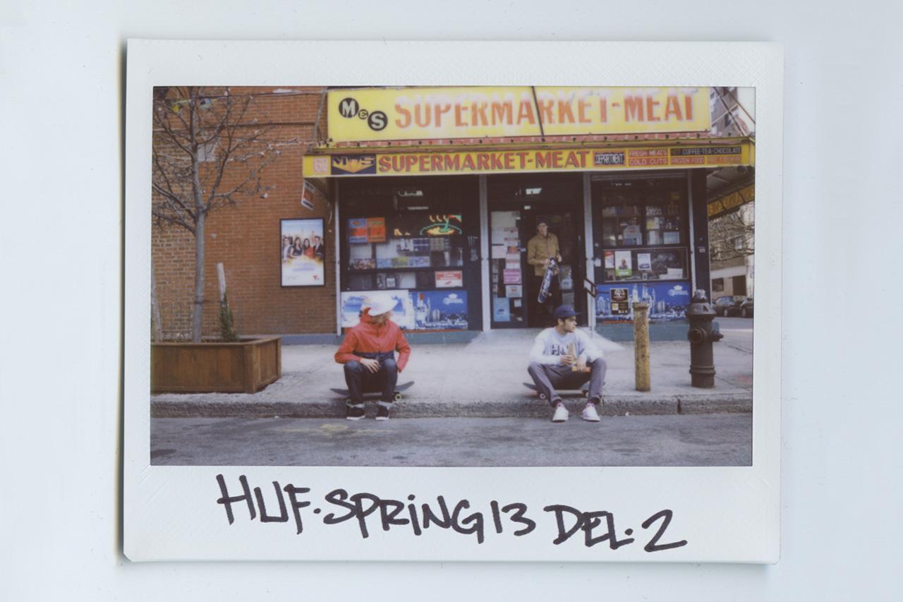 HUF 2013 Spring Delivery 2 Lookbook by Brian Kelley