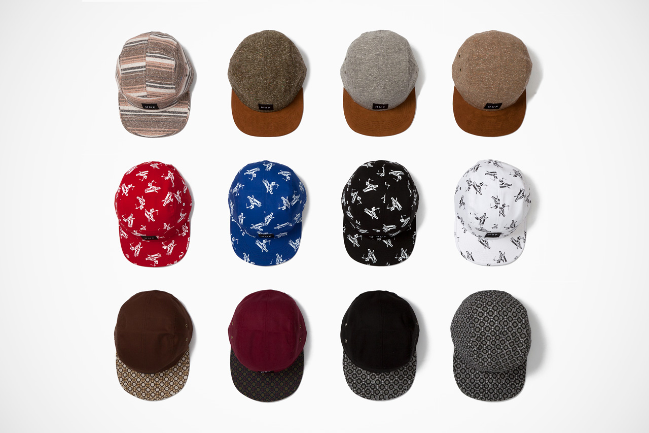 HUF 2013 Spring/Summer Volley Cap Collection - Delivery 1