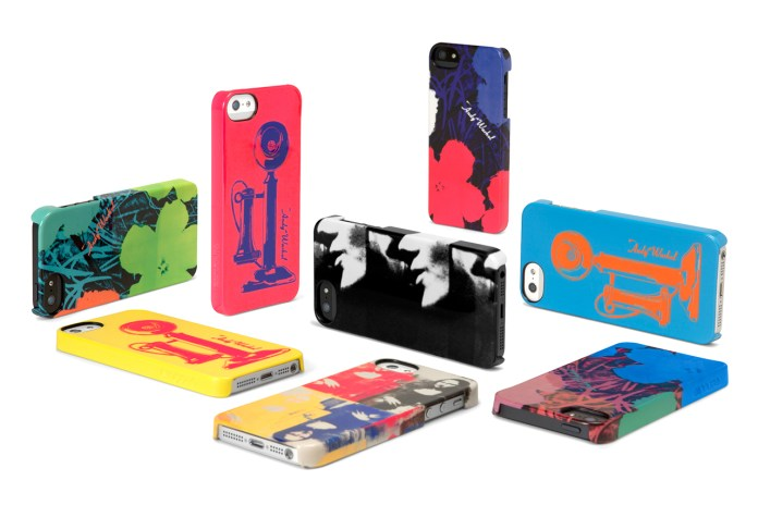 Incase for Andy Warhol Collection for iPhone 5