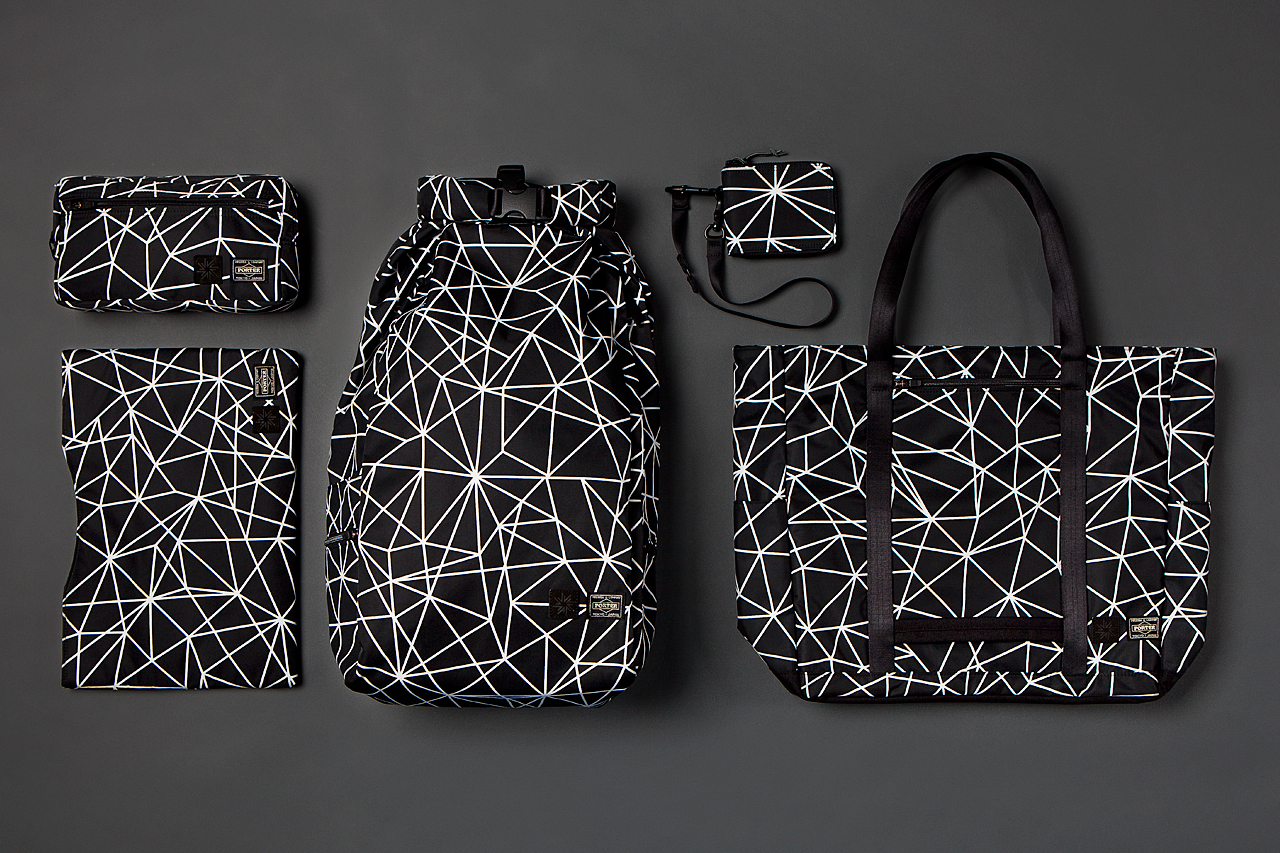 isaora x porter 2013 geo light bag collection