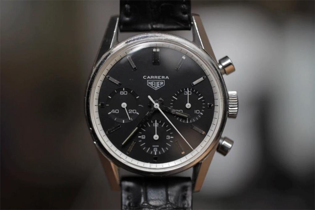 Jack Heuer Details the Design Process Behind the Carrera Chronograph