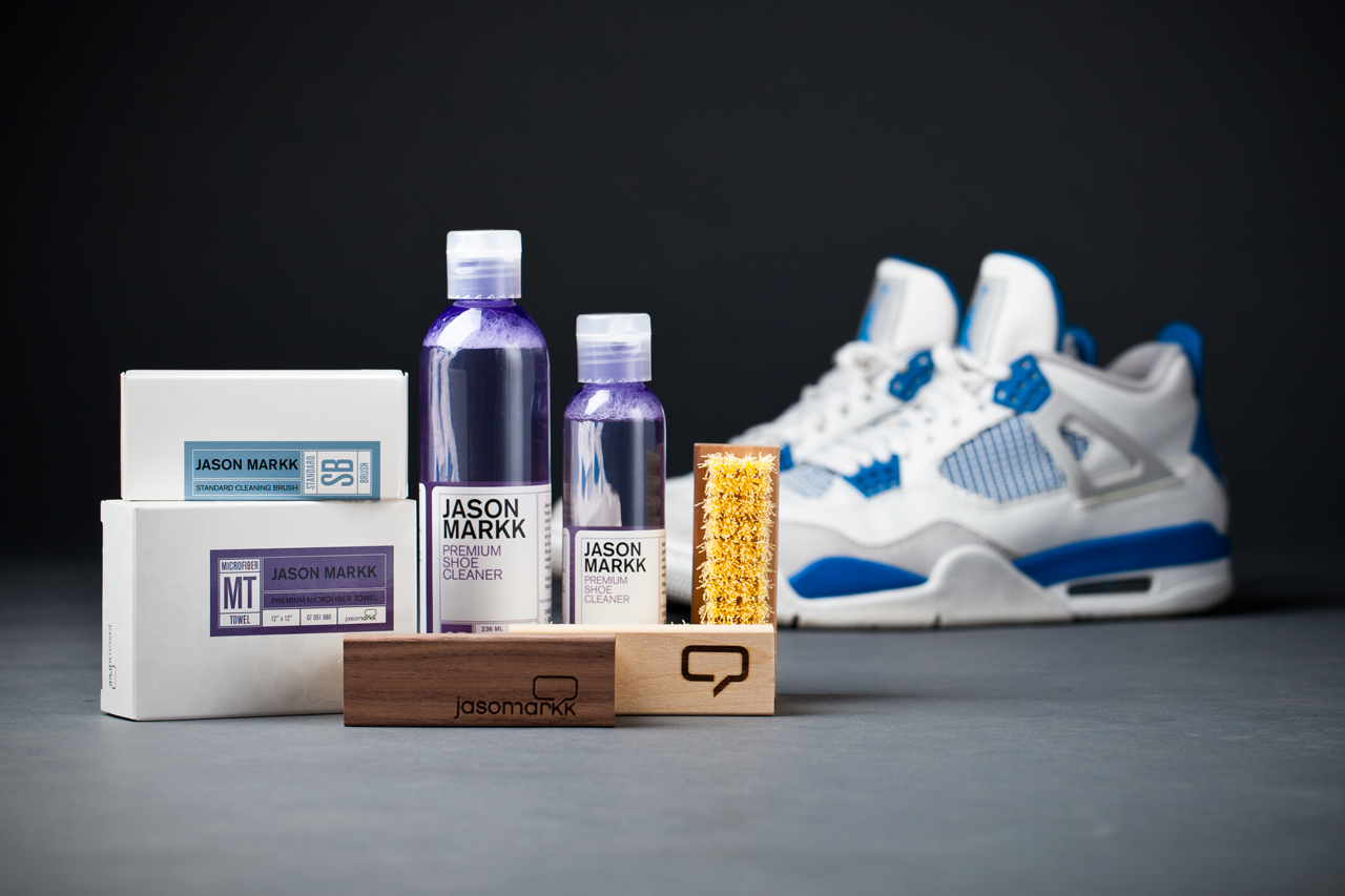 jason markk premium sneaker cleaning kit accessories