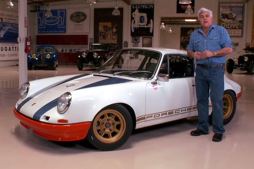 Jay Leno Highlights the 1972 Porsche 911 72STR 002