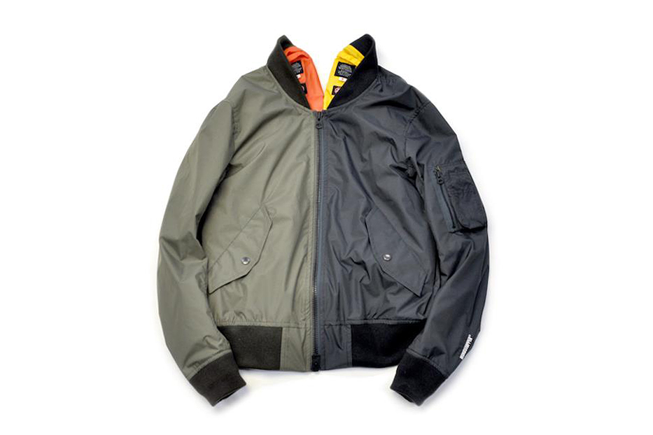 Journal Standard x 02DERIV. 2013 Spring/Summer SPECIAL MA-1 JACKET