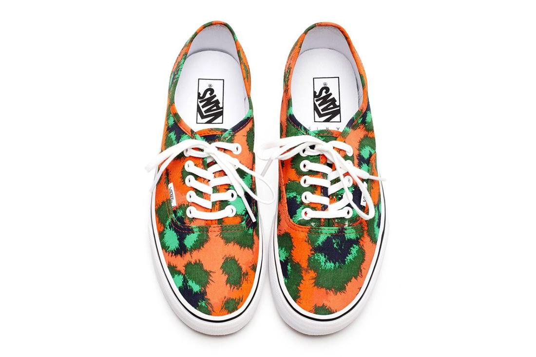 Kenzo x Vans 2013 Spring/Summer Footwear